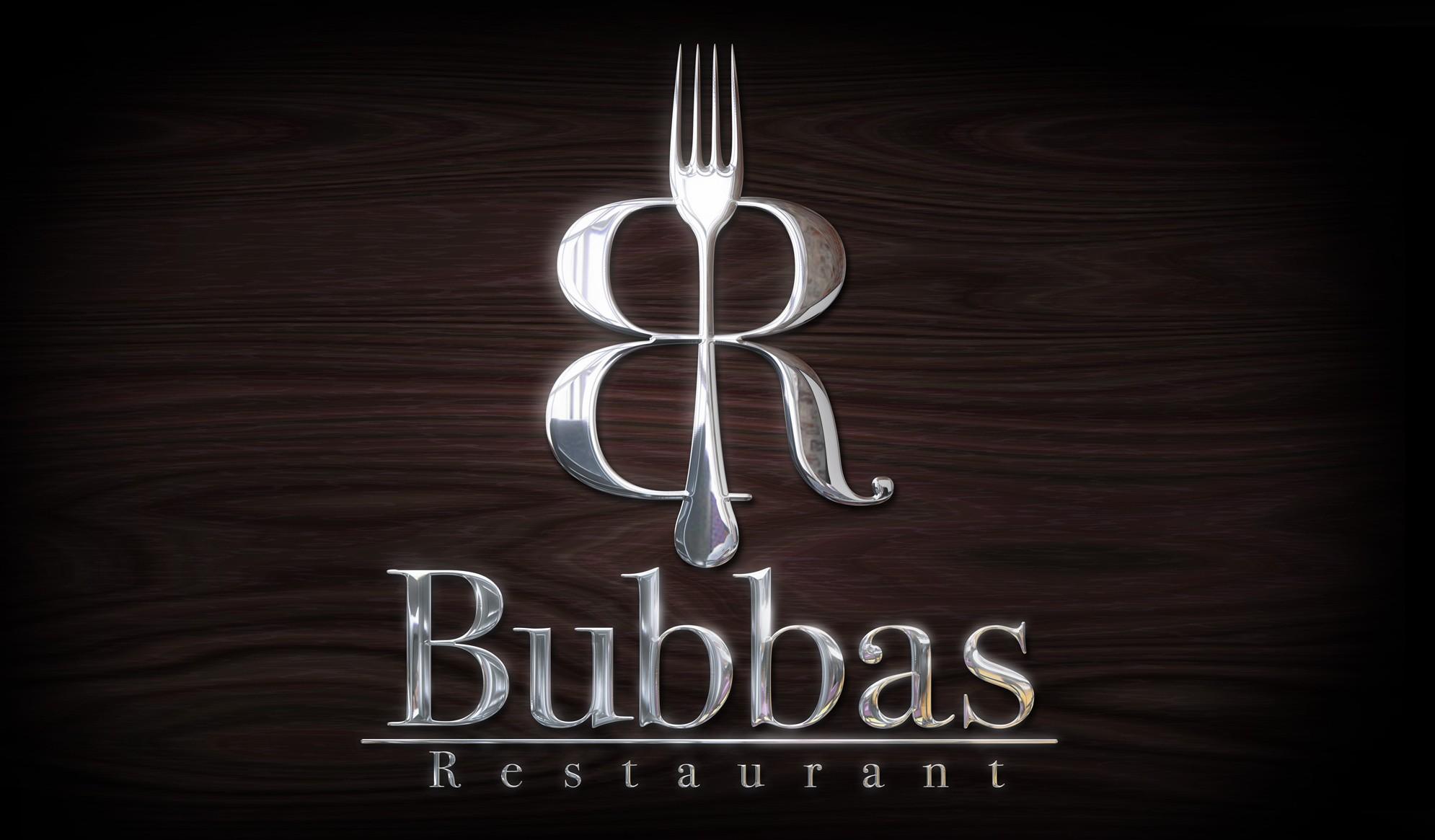 Bubbas Logo Design