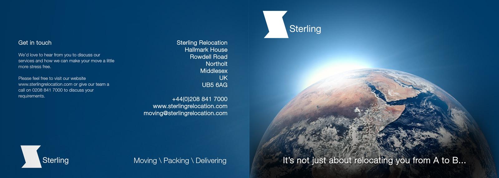 Sterling booklet design