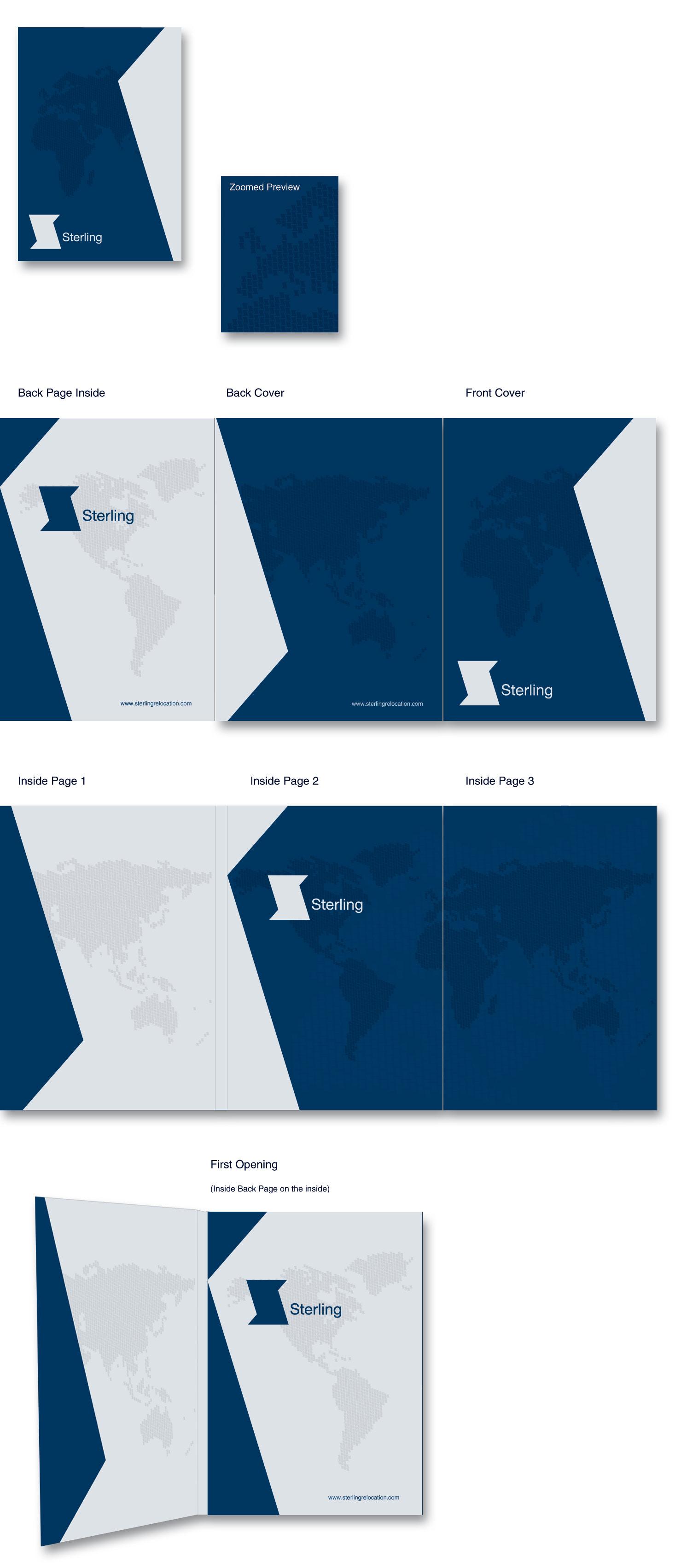 Sterling Presentation Folder Design