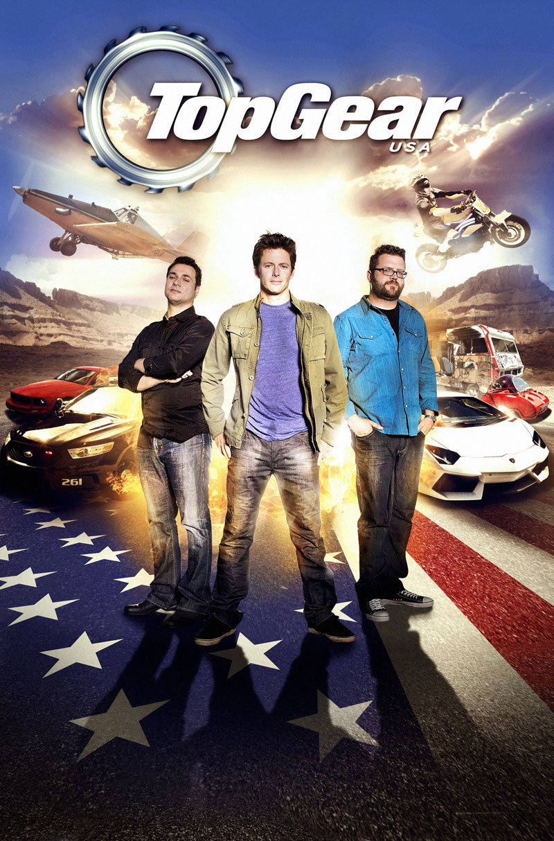 Promotional Graphic for Top Gear USA