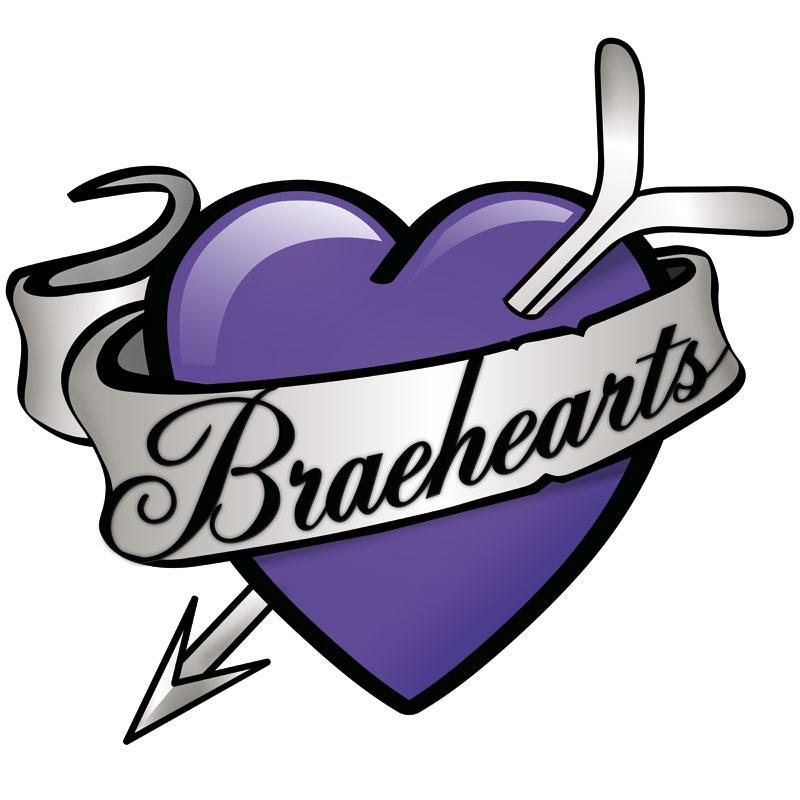 braehearts logo design