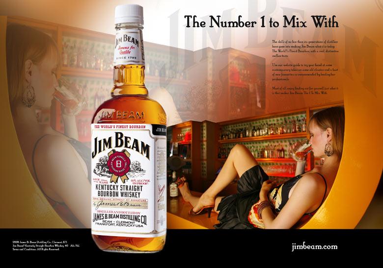 Jim Beam Print Ad