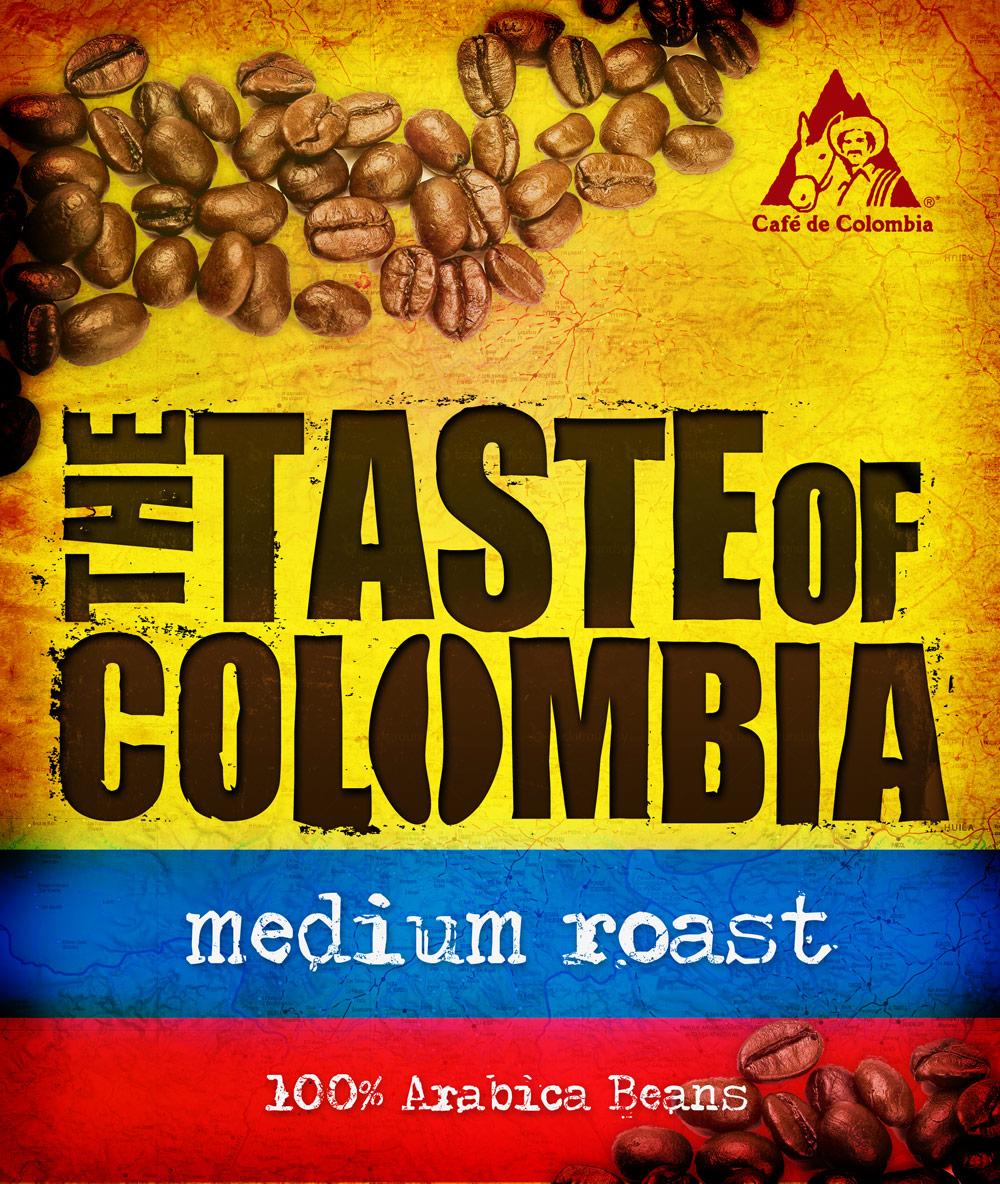 taste of colombia packaging design