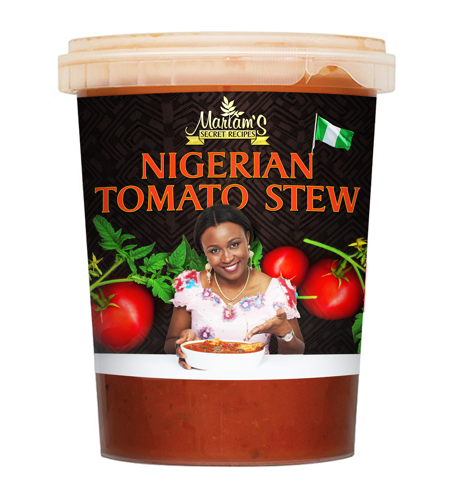 Nigerian Tomato Stew packaging design