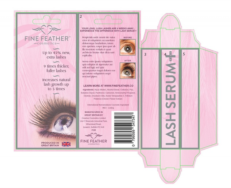 Fine Feather full packaging concept